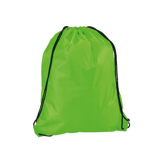 Neon Groene Gymtas Met Rijgkoord Thermo ondergoedwinkel kopen