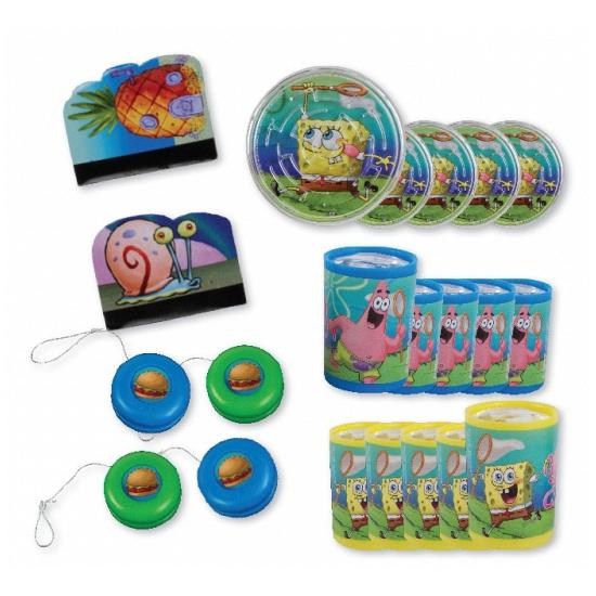 Spongebob Grabbelton Cadeautjes 24 Stuks Thermo ondergoedwinkel kopen