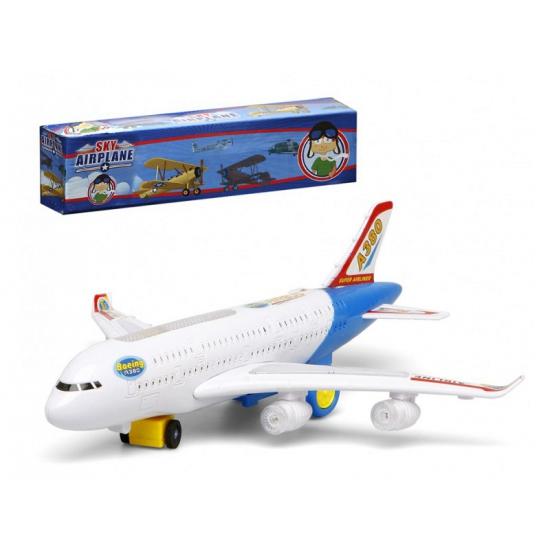Wit Speelgoed Vliegtuig Met Licht En Geluid Thermo ondergoedwinkel kopen