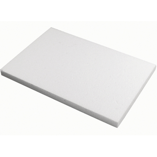 2x Piepschuim knutsel platen 20x30x2