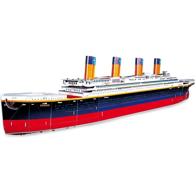 3d titanic puzzel 80 x 11 x 20 cm