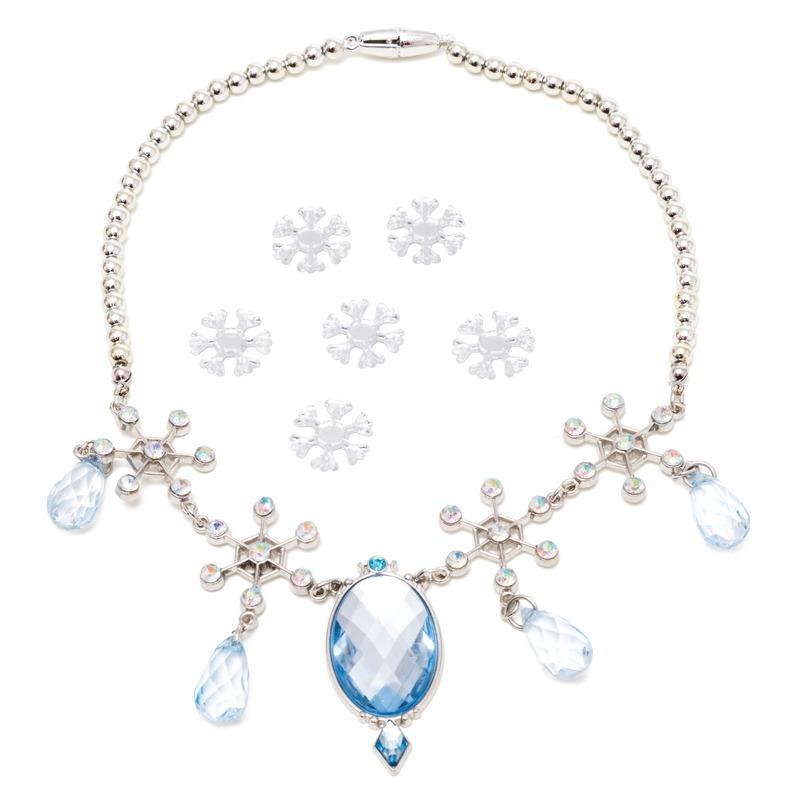 7x Disney Frozen sieraden set haarstickers-ketting voor meisjes