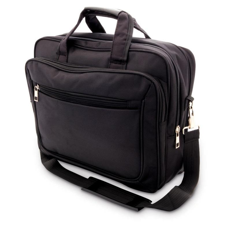 Aktetas-laptoptas 15,6 inch zwart 20 liter