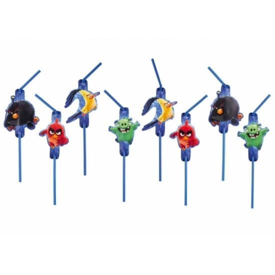 Angry Birds rietjes 8x