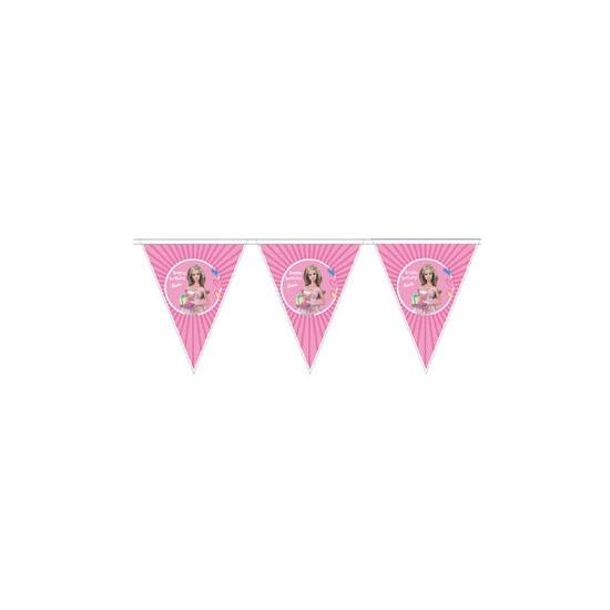 Barbie vlaggenlijn 3 meter