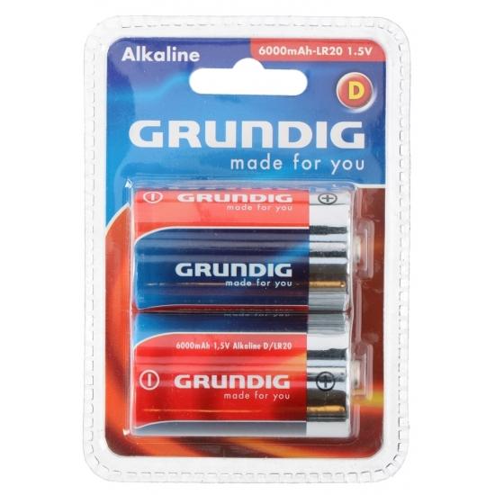 Batterijen LR20 Grundig 2 stuks