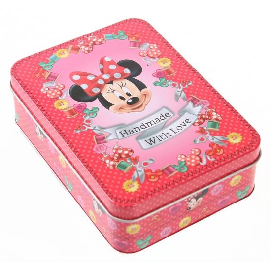 Bewaarblik Minnie Mouse rood