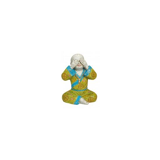 Boeddha beeldjes Zien 16 cm