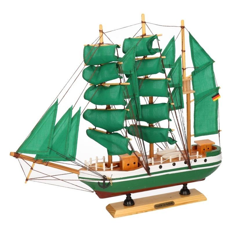 Decoratie zeilboot Alexander von Humboldt