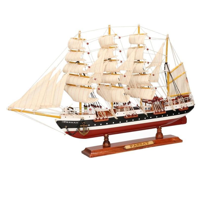 Decoratie zeilboot Passat 50 cm