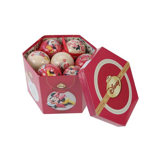 Disney Minnie Mouse kerstballen 14x