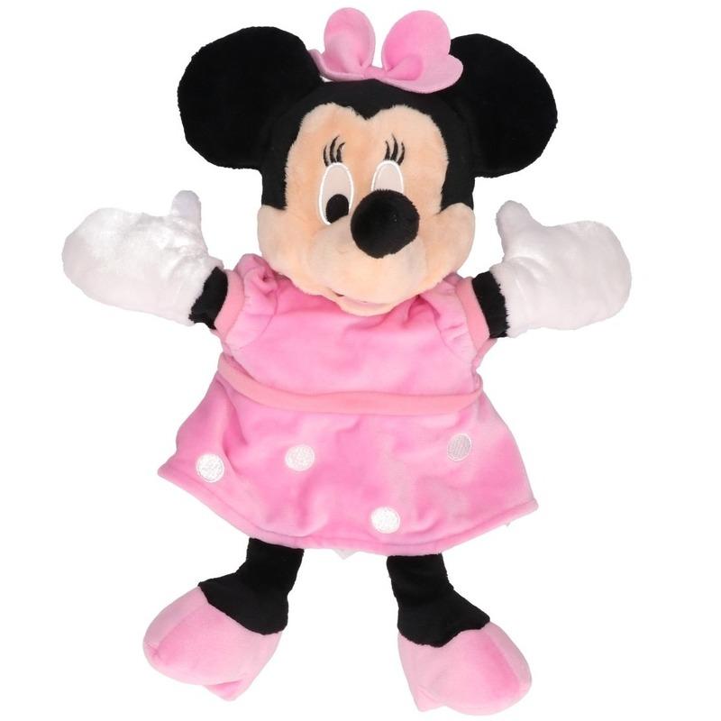 Disney pluche handpop Minnie Mouse 25 cm Disney Handpoppen