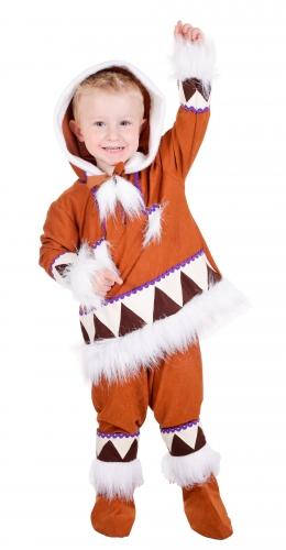 Eskimo kostuum voor jongens. compleet eskimo kostuums voor jongens bestaande uit een broek, shirt met ...