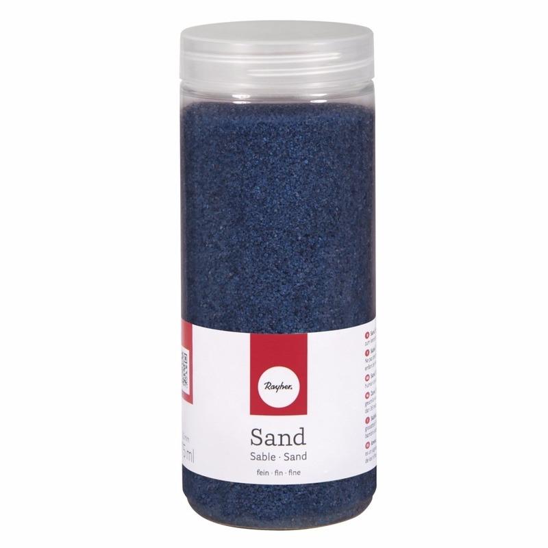 Fijn decoratie zand blauw