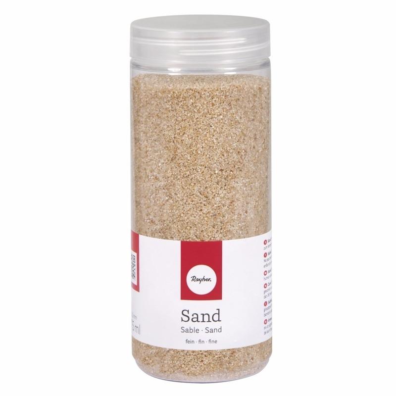 Fijn decoratie zand creme