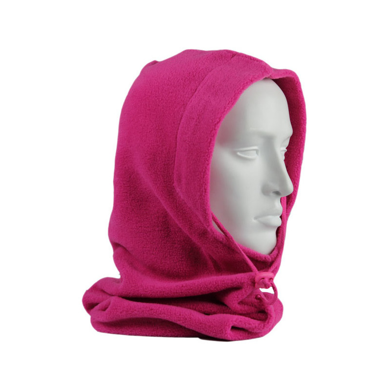 Fleece bivakmuts fuchsia