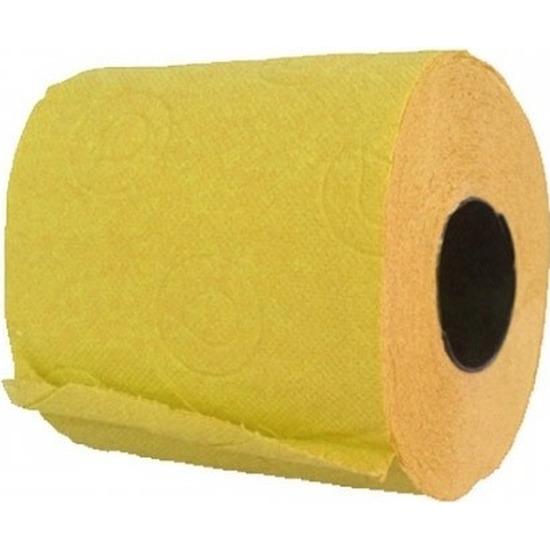 Geel toiletpapier