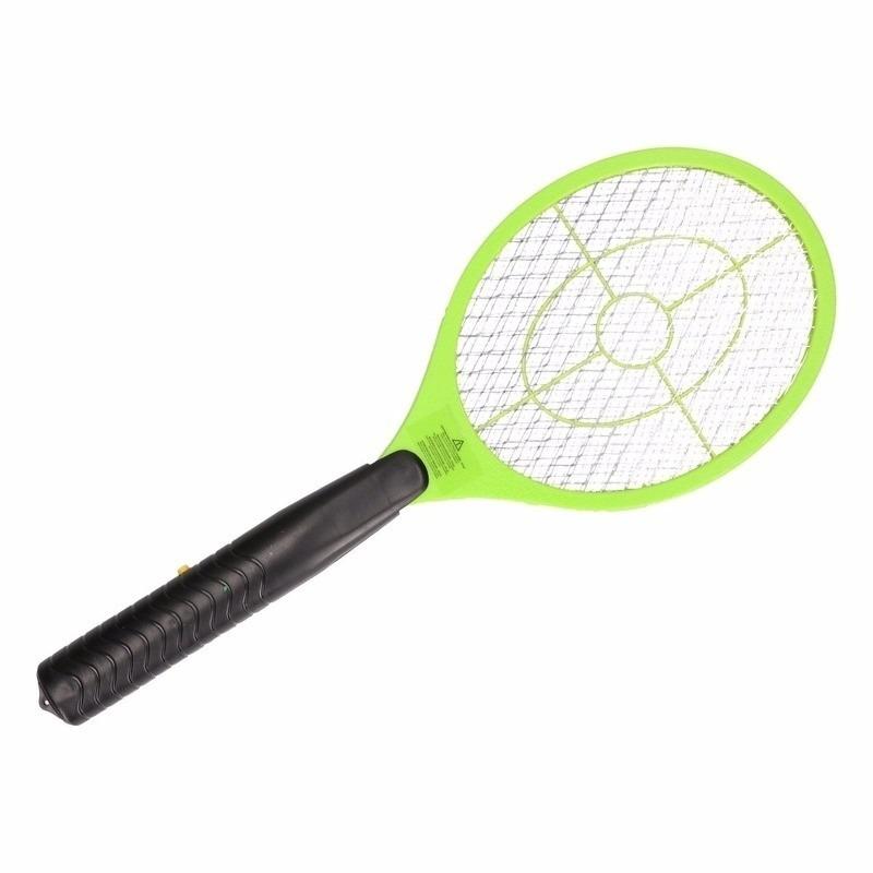 Groene elektrische vliegenmepper