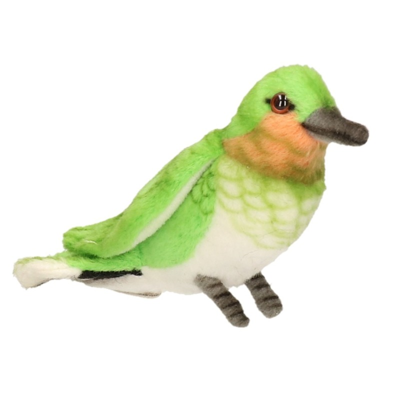 Hansa pluche Kolibrie vogel knuffel 10 cm