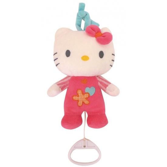 Hello Kitty muziek knuffel 19 cm