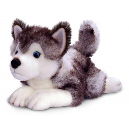 Keel Toys pluche husky knuffel 50 cm