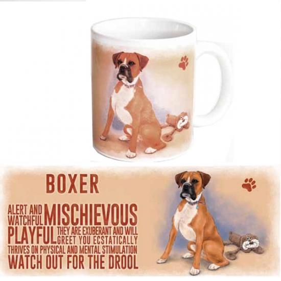 Koffie mok Boxer