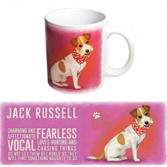 Koffie mok Jack Russell