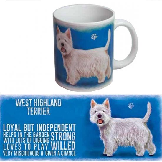 Koffie mok West Higland terrier
