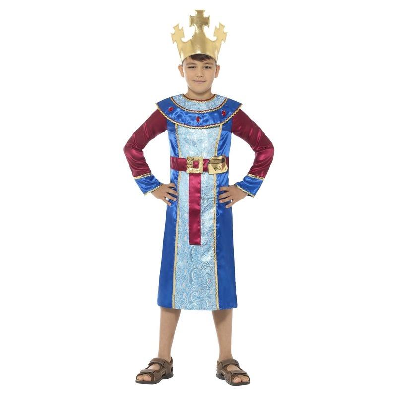 Koning Melchior kostuum voor jongens 3-koningen kerst kostuum