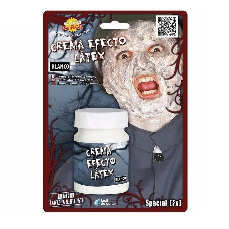 Latex effect creme make up