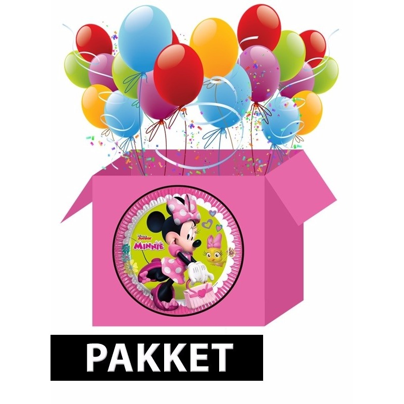 Minnie Mouse kinderfeest pakket