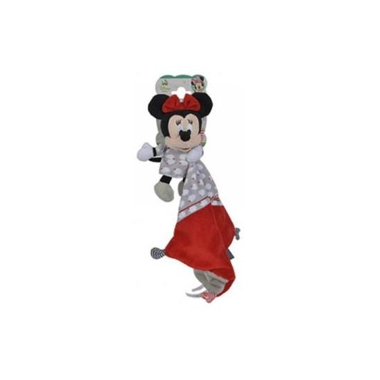 Minnie Mouse knuffeldoekje rood