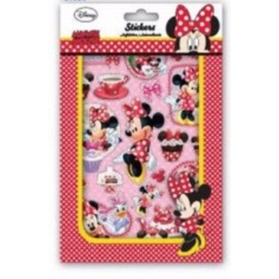 Minnie Mouse sticker boekje