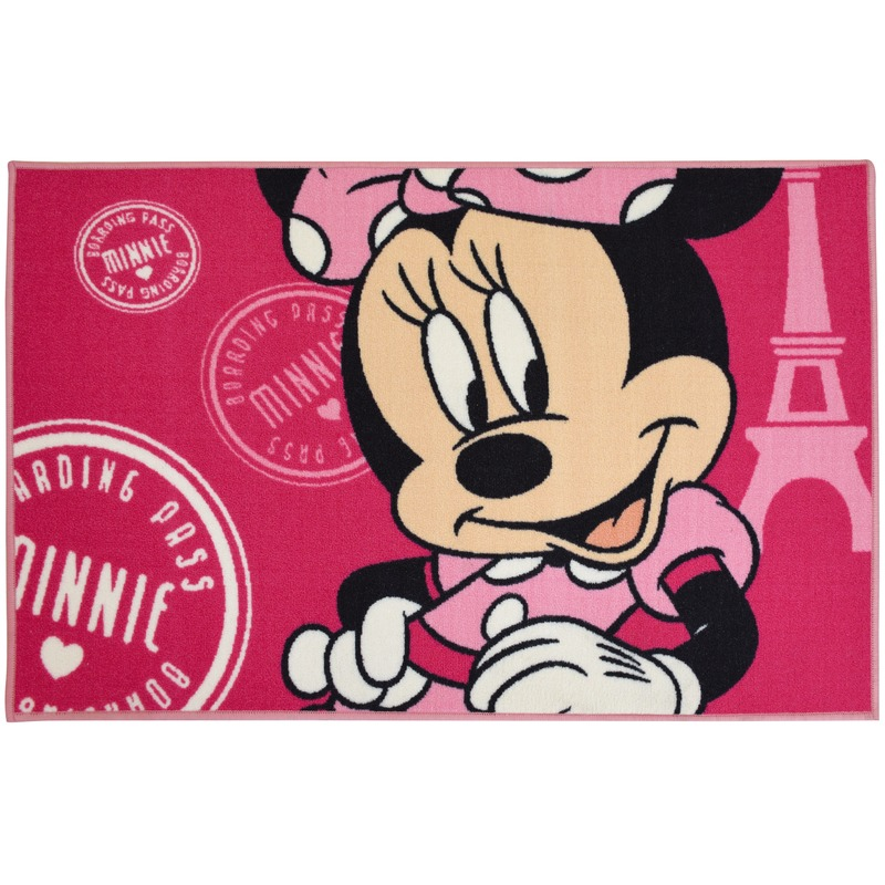 Minnie Mouse tapijt 120 x 80 cm