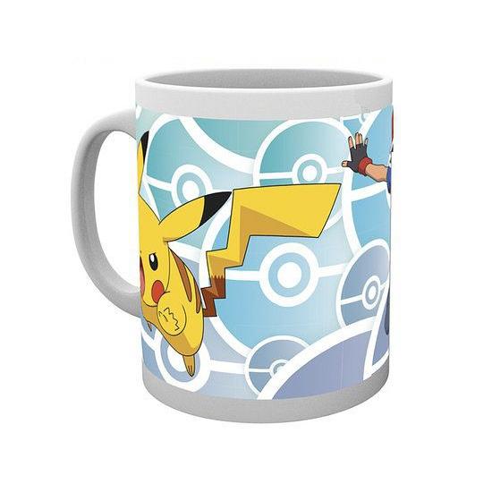 Mok Pokemon Ash en Pikachu