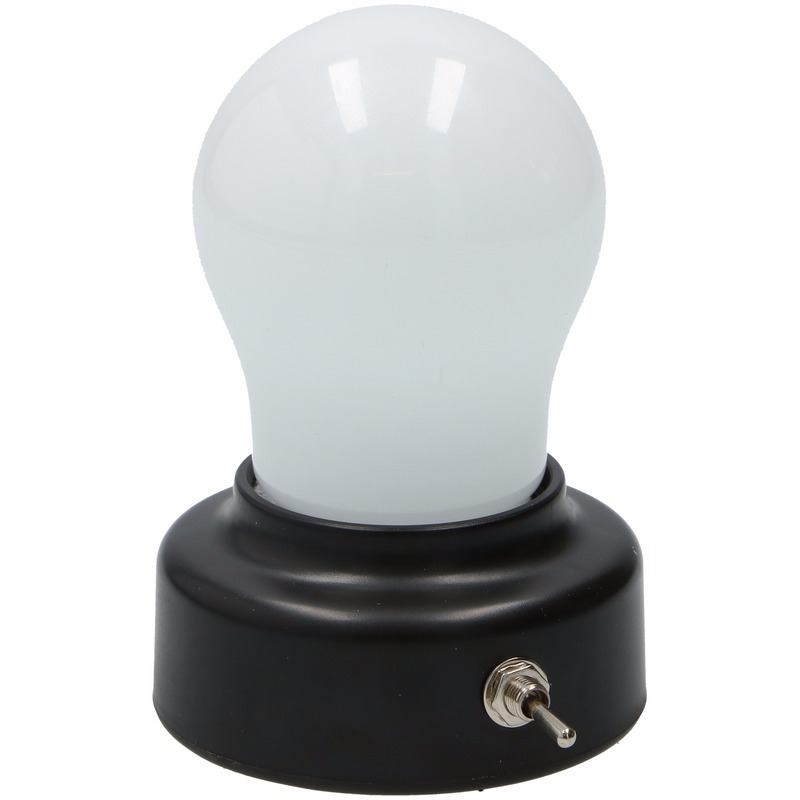 Speelgoed diversen Geen Nachtlamp gloeilampvorm 11 cm