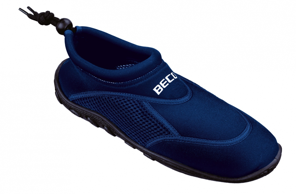 Navy neopreen surf en waterschoen voor heren