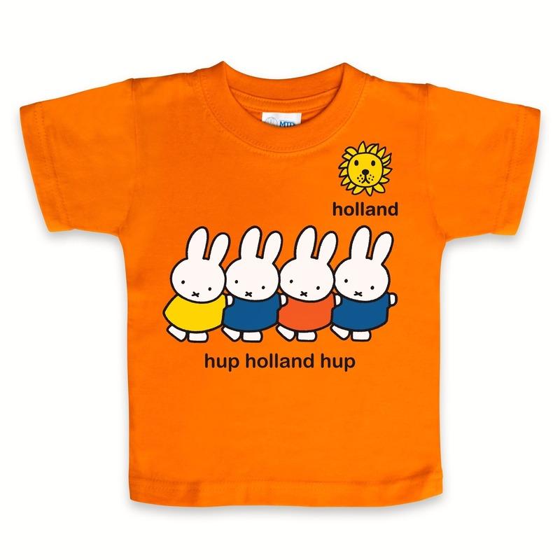Nijntje baby t-shirt hup Holland hup