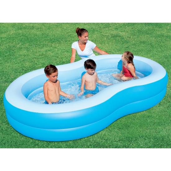 Opblaasbaar zwembad 262 x 157 cm