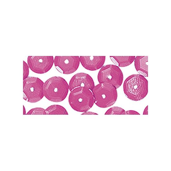 Pailletten roze 6 mm 500 stuks