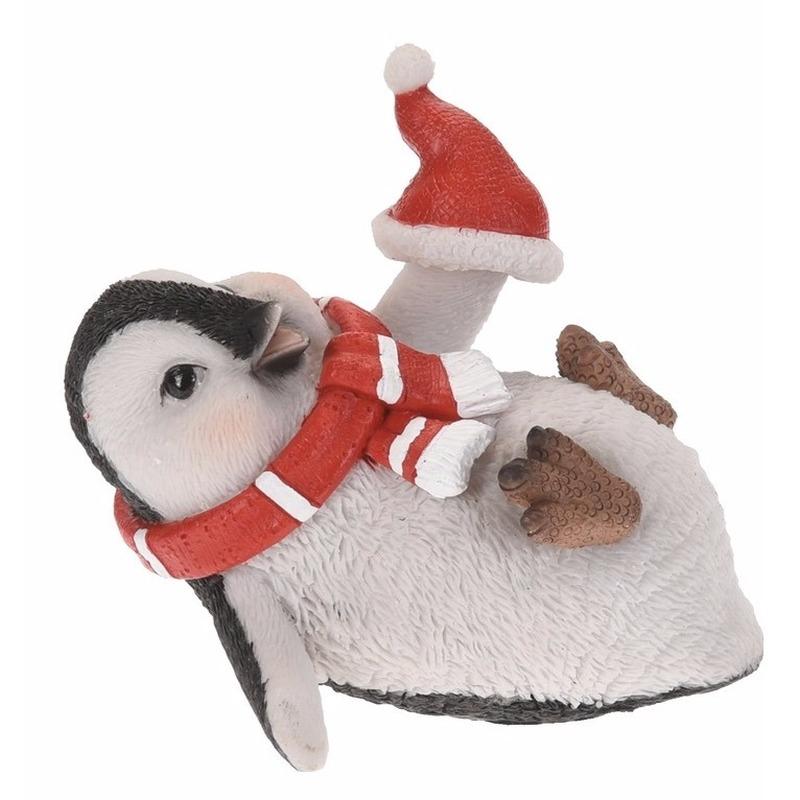 Pinguin beeldje 10 cm type 3