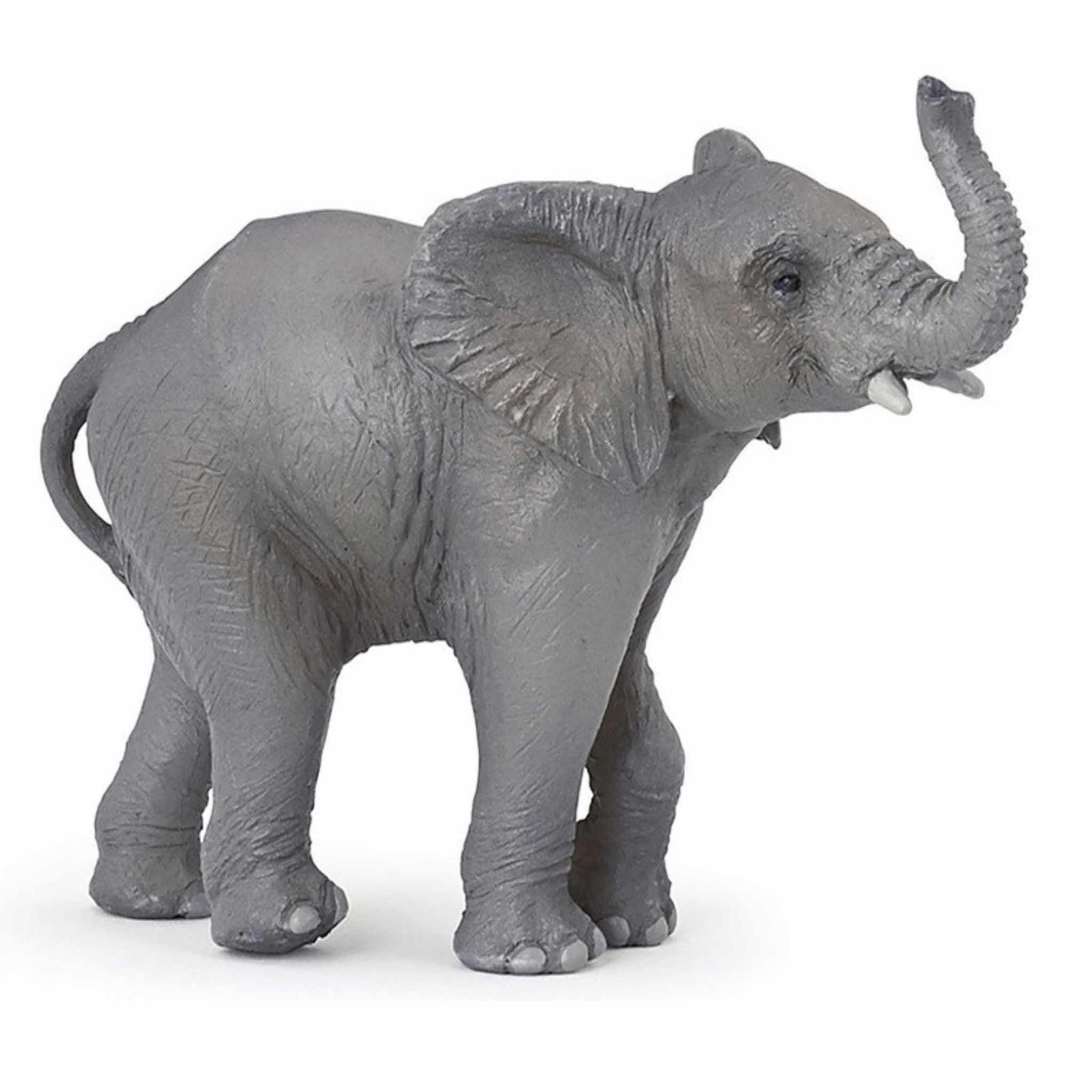 Speelfiguren sets Plastic baby olifant 11 cm