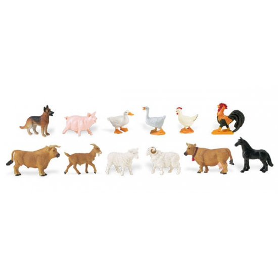 Geen Plastic boerderij dieren Speelgoed diversen