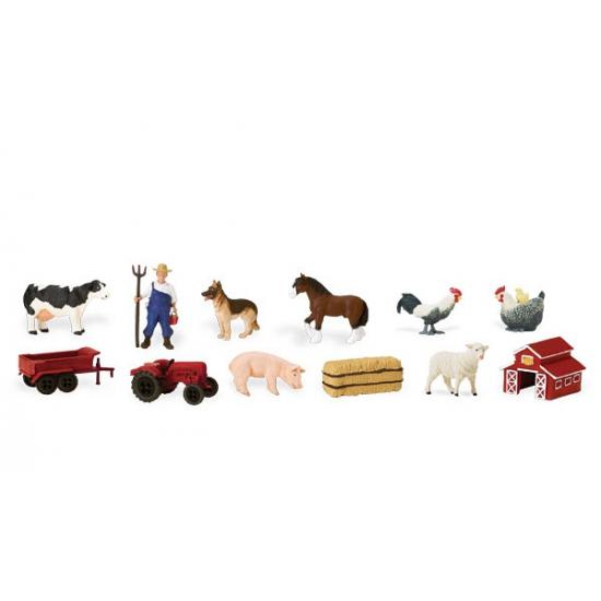 Plastic boerderij figuren Geen Speelgoed diversen