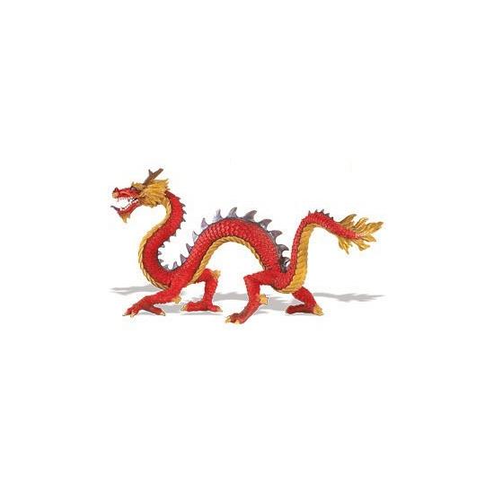 Plastic Chinese draak 19 cm Geen Speelfiguren sets