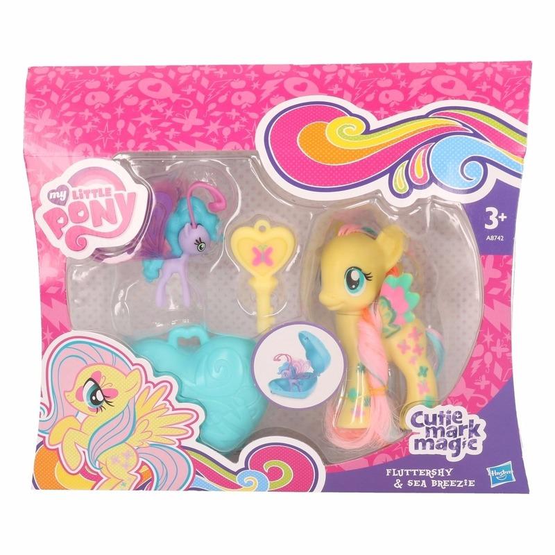 My Little Pony Plastic My Little Pony speelfiguren set Fluttershy geel Speelfiguren sets