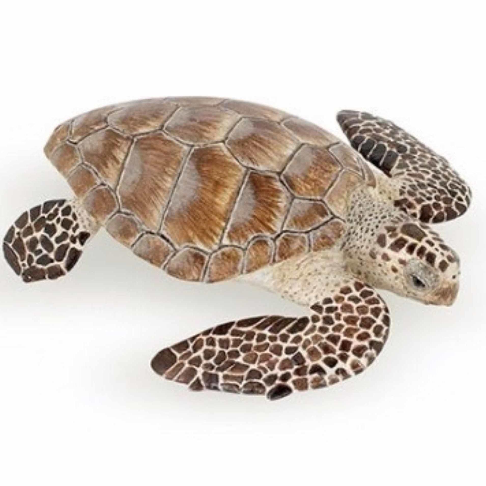 Plastic zeeschildpad 7,5 cm Papo Speelfiguren sets