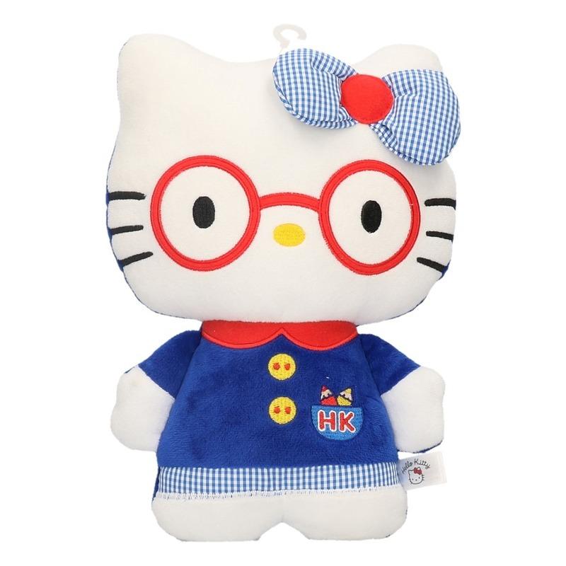 Pluche Hello Kitty in kleding 25 cm