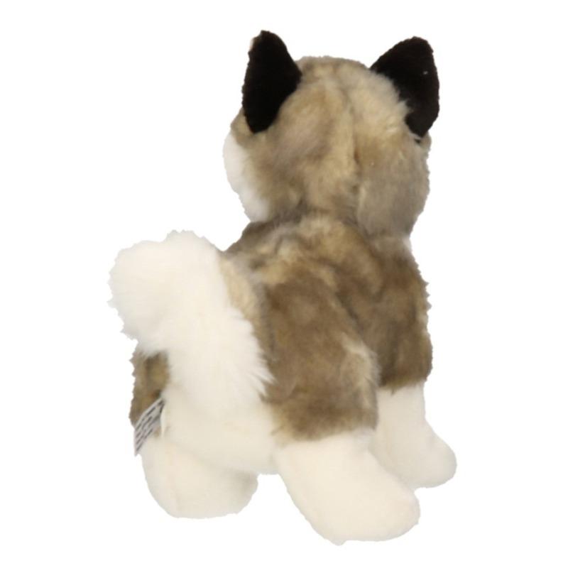 Pluche Husky hond knuffel 24 cm