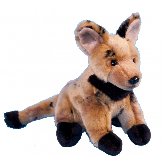 Pluche hyena knuffel 21 cm